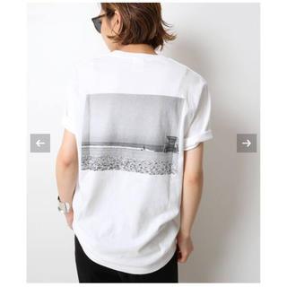 DEUXIEME CLASSE - ドゥーズィエムクラス  Photo T-shirt   ホワイト B