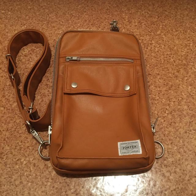 PORTER(ポーター)のPORTER   FREE STYLE ワンショルダーバッグ メンズのバッグ(ショルダーバッグ)の商品写真