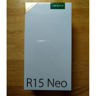 ANDROID - OPPO R15 NEO Diamond Blue simフリー 新品 未開封