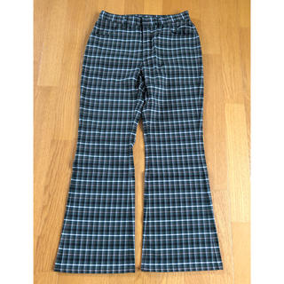 X-girl - X-girl  CLASSIC COLOR PLAID FLARE PANTS