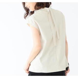 デミルクスビームス(Demi-Luxe BEAMS)のデミルクスビームス バック リボン プルオーバー(シャツ/ブラウス(半袖/袖なし))