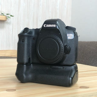 Canon - Canon EOS 6D デジタル一眼レフカメラ ボディ バッテリーグリップ付