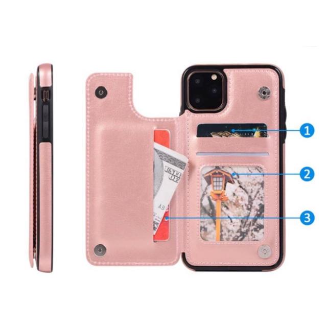 新品☆機能性バツグン✌️iPhone11ProMax ポケット3つ マグネット スマホ/家電/カメラのスマホアクセサリー(iPhoneケース)の商品写真