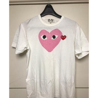 COMME des GARCONS - コムデギャルソン プレイTシャツ Mサイズ