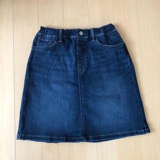 ユニクロ(UNIQLO)の★ユニクロ★ デニム スカート  150(スカート)