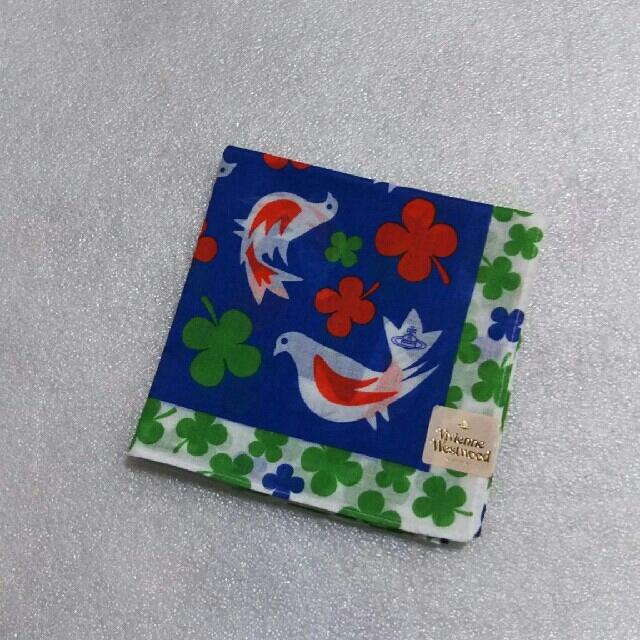 Vivienne Westwood(ヴィヴィアンウエストウッド)の値下げ📌ViVienne Westwood☆大判ハンカチ レディースのファッション小物(ハンカチ)の商品写真