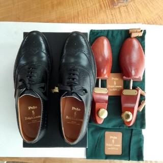 POLO RALPH LAUREN - ポロラルフローレンウイングチップ紳士靴
