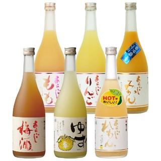 梅乃宿 あらごしシリーズ 720ml×6本(リキュール/果実酒)