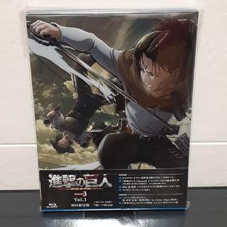 コウダンシャ(講談社)のTVアニメ「進撃の巨人」Season3 Vol.1 Blu-ray(アニメ)