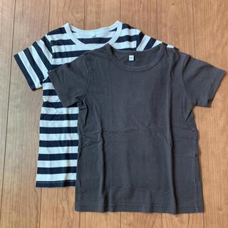 MUJI (無印良品) - 【無印良品】ベビー 半袖Tシャツ 2枚セット