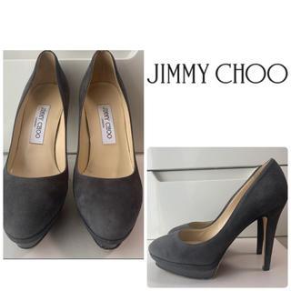 JIMMY CHOO - ジミーチュウ グレースエード パンプス