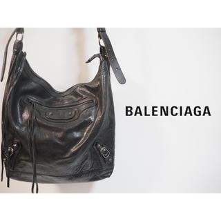 バレンシアガ(Balenciaga)のショルダーバッグ バレンシアガ メンズ 黒(ショルダーバッグ)