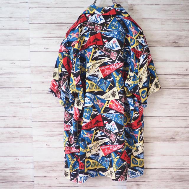 """AVIREX(アヴィレックス)のAVIREX """"PENNENT"""" S/S Aloha Shirt メンズのトップス(シャツ)の商品写真"""
