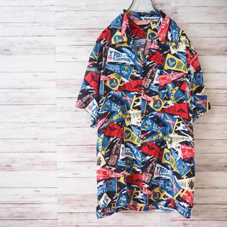 """AVIREX - AVIREX """"PENNENT"""" S/S Aloha Shirt"""