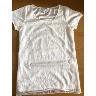 ナチュラルビューティーベーシック(NATURAL BEAUTY BASIC)のナチュラルビューティーベーシックレーストップス(Tシャツ(半袖/袖なし))