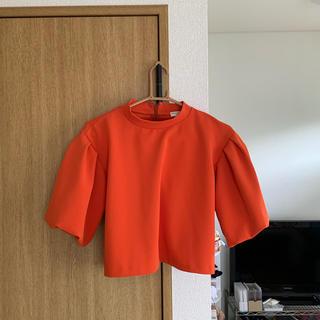 オープニングセレモニー(OPENING CEREMONY)のopening ceremony オレンジトップス◎(カットソー(半袖/袖なし))