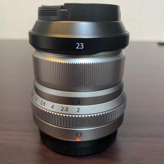 フジフイルム(富士フイルム)のXF 23mm F2 R WR フジノン シルバー 美品(レンズ(単焦点))