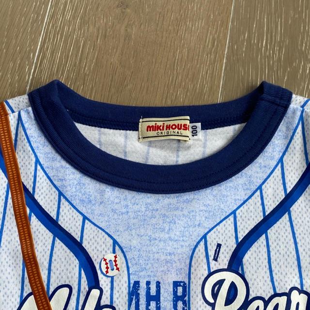 mikihouse(ミキハウス)の【今期】ミキハウス ぷっちー 豪華Tシャツ 2点セット キッズ/ベビー/マタニティのキッズ服男の子用(90cm~)(Tシャツ/カットソー)の商品写真