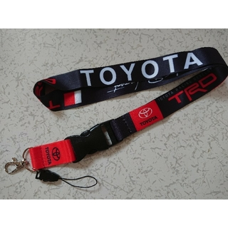 トヨタ(トヨタ)のTRD ネックストラップ TOYOTA(ネックストラップ)