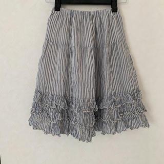 パタシュー(PATACHOU)のPATACHOU  フリルスカート サイズ130(スカート)