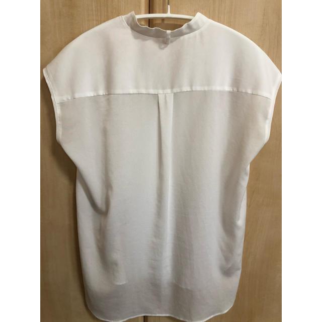 ROPE(ロペ)のROPE ノースリーブ ボウタイ ブラウス レディースのトップス(シャツ/ブラウス(半袖/袖なし))の商品写真