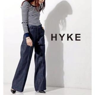 HYKE - HYKE デニム ワイドパンツ 1