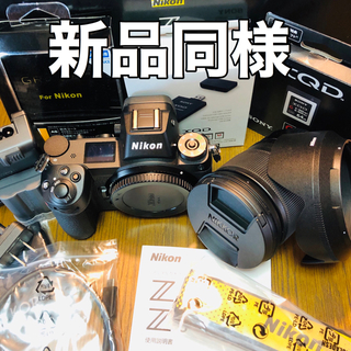 ニコン(Nikon)の■新品同様■ニコン Z6 レンズキット ➕XQDカード➕カードリーダー(ミラーレス一眼)