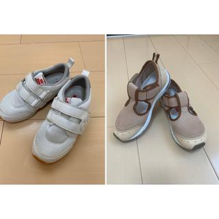 mikihouse - ミキハウス 18 靴 キッズ ホワイト スニーカー