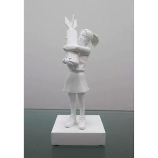 メディコムトイ(MEDICOM TOY)のBomb Hugger SPECIAL WHITE ver. BANKSY(彫刻/オブジェ)