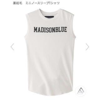 MADISONBLUE - MADISONBLUE ミニノースリーブTシャツ