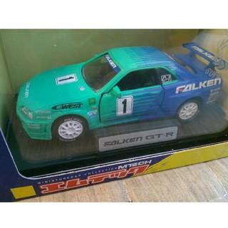 バンダイ(BANDAI)のエムテック ファルケン GT-R   スケール1/43程度(ミニカー)