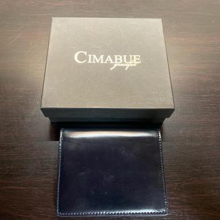 ガンゾ(GANZO)のチマブエグレースフル コードバン ミニ財布(折り財布)