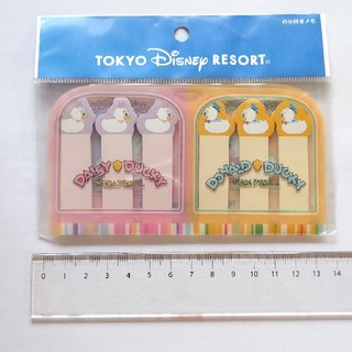 Disney - ディズニー ドナルド デイジー ダッキー 付箋