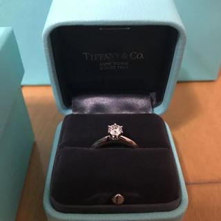 ティファニー(Tiffany & Co.)の新品 ティファニー  婚約指輪(リング(指輪))