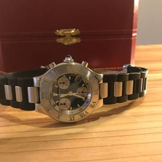 Cartier - カルティエ マスト21 クロノスカフ
