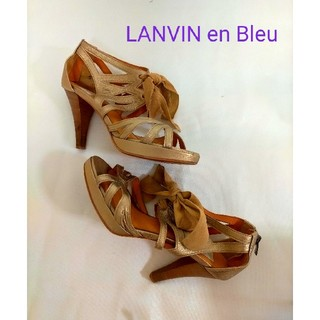 ランバンオンブルー(LANVIN en Bleu)のLANVIN en Bleu★サンダル(サンダル)