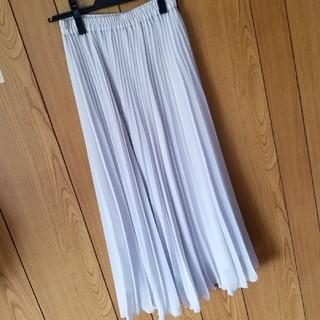 GRACE CONTINENTAL - グレースコンチネンタルプリーツスカート36グレー