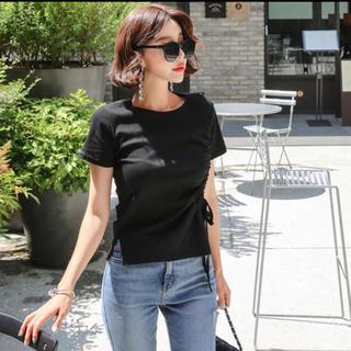 dholic - ★新品未使用★ 韓国ファッション トップス 紐リボン クラブ服 夏服
