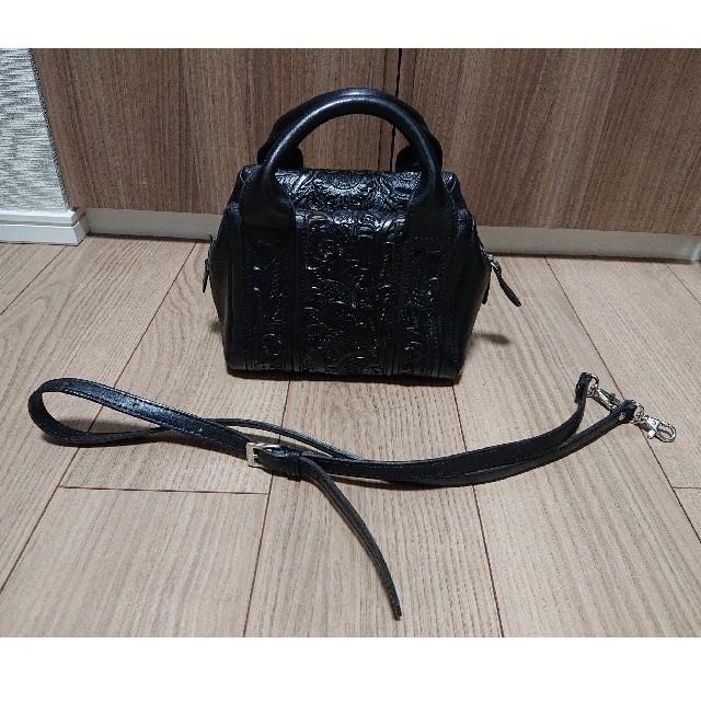 GRACE CONTINENTAL(グレースコンチネンタル)のCarvingtribes ショルダーバッグbonita ボニータブラック レディースのバッグ(ショルダーバッグ)の商品写真