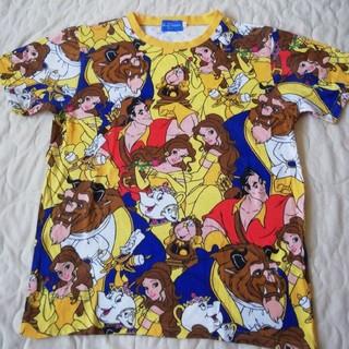 Disney - ディズニーリゾート 美女と野獣 ベル総柄TシャツSサイズ