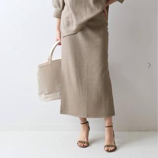 FRAMeWORK - ラゲットリブタイトスカート