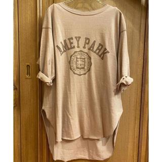 DEUXIEME CLASSE - 新品未使用  Americana 別注バックヘンリーTシャツ ブラウン