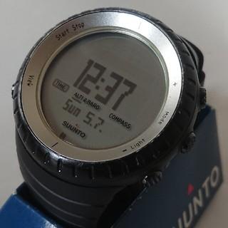 スント(SUUNTO)の☆値下げ!送料無料!☆SUUNTO CORE Glacier Gray ブラック(腕時計(デジタル))