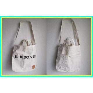 イルビゾンテ(IL BISONTE)の値下シマシタTHE IL BISONTE BIBLEイルビゾンテショルダーバッグ(トートバッグ)