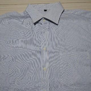 ムジルシリョウヒン(MUJI (無印良品))の新品未使用☆無印良品☆ストライプシャツ(シャツ)