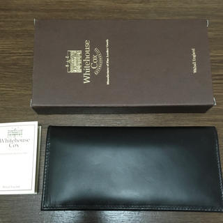 ホワイトハウスコックス(WHITEHOUSE COX)の長財布 (Whitehouse Cox) S9697L(長財布)