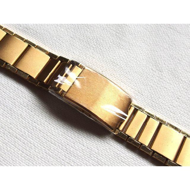 【未使用】腕時計 ベルト バンド 弓菅 三つ折れタイプ★送料無料★5 メンズの時計(腕時計(アナログ))の商品写真