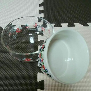 アフタヌーンティー(AfternoonTea)のAfternoon Tea  アフターヌーンティー 陶器製&ガラス製 容器セット(容器)