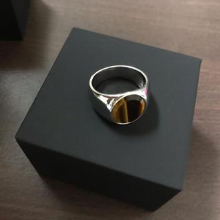マルタンマルジェラ(Maison Martin Margiela)のtomwoodトムウッド リング 指輪 62 タイガーアイ 納品書付き(リング(指輪))