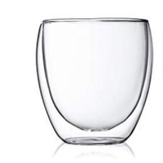 ボダム(bodum)のボダムPAVINAダブルウォールグラス250ml 1個 北欧デンマーク(グラス/カップ)